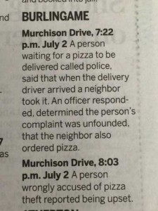 pizza delivery crime