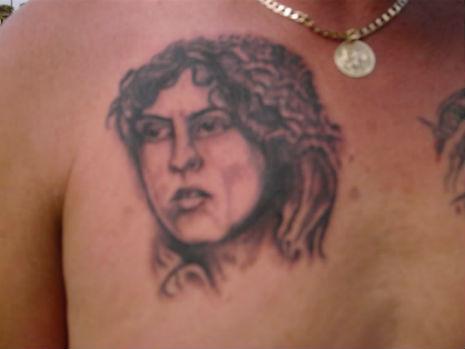 marc bolan tattoo