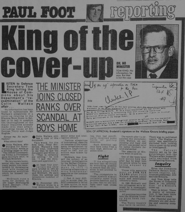Daily Mirror, 8th February 1990