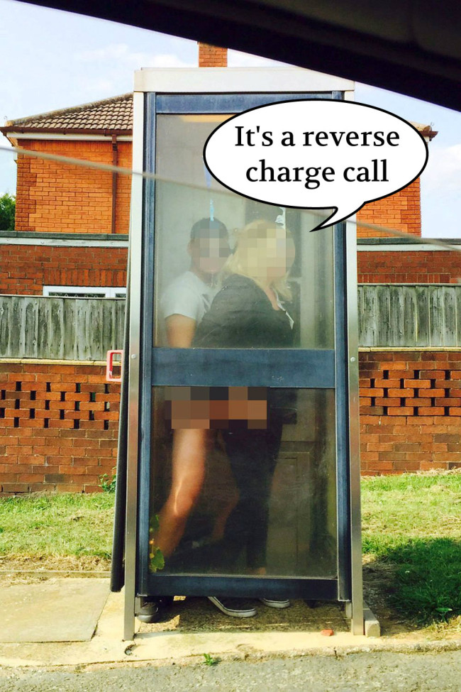 phone box sex box