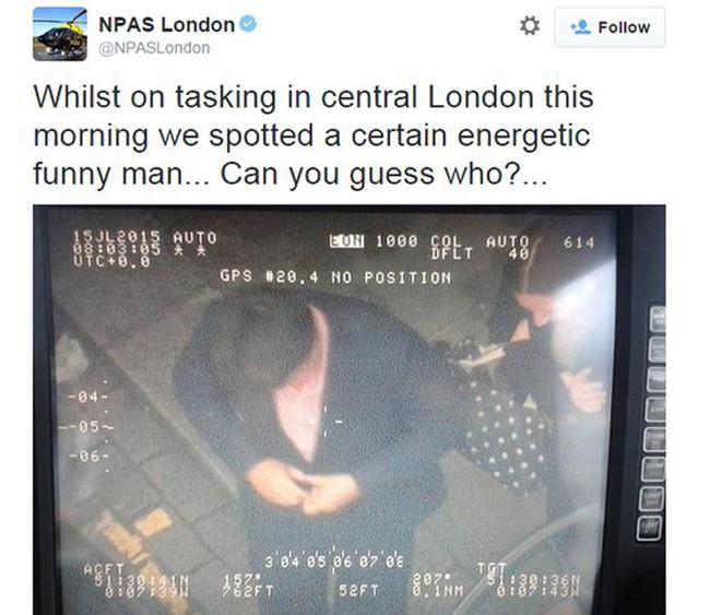 michael mcintryre police tweet