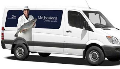 seafood masturbating driver