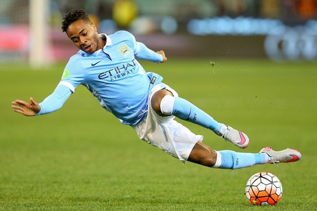 raheem sterling manchester city debut