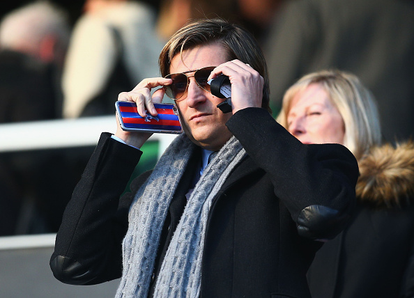 LONDON, ENGLAND - DECEMBER 28:  Steve Parish, co-Chairman of Crystal Palace looks on prior to the Barclays Premier League match between Queens Park Rangers and Crystal Palace at Loftus Road on December 28, 2014 in London, England.  (Photo by Charlie Crowhurst/Getty Images)