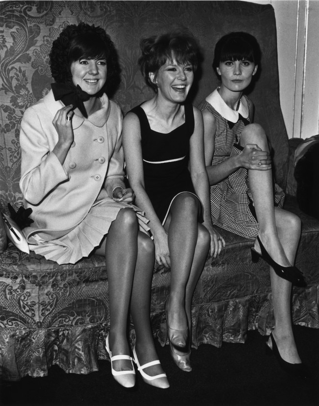 Sixties personalities, from left to right, Cilla Black, Petula Clark and Sandie Shaw, at the Dorchester Hotel, London,  for a Variety Club luncheon.   (Photo by Fred Mott/Getty Images)