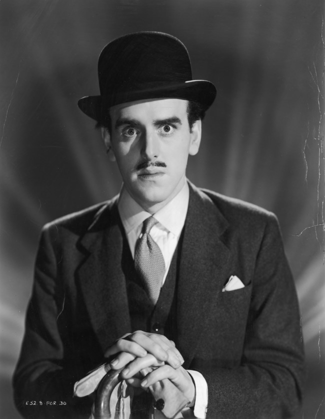 2nd November 1955:  British actor George Cole wearing a bowler hat.  (Photo by Hulton Archive/Getty Images)