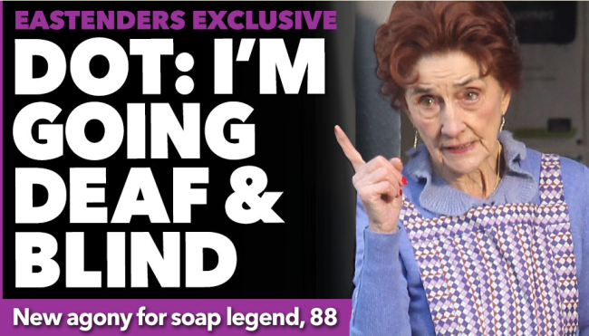 dot cotton blind