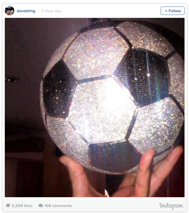 benzema diamond ball