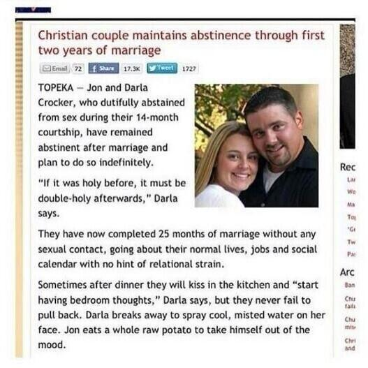 Normal christian sex