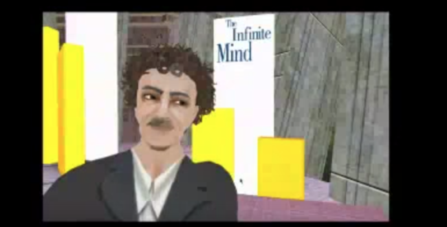 Watch: Kurt Vonnegut interviewed for The Infinite Mind fromi within Second Life