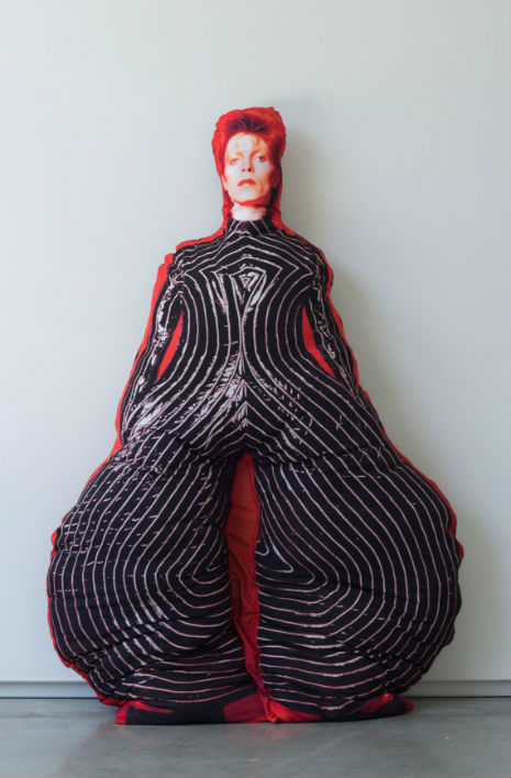david bowie pillow doll