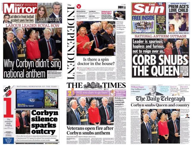 corbyn sings
