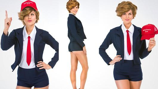 sexy donald trump costume