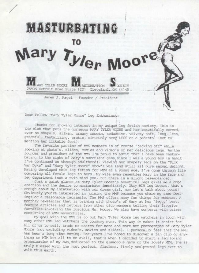 Mary Tyler Moore masturbation