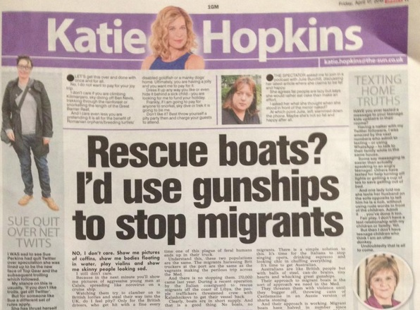 the sun migrants