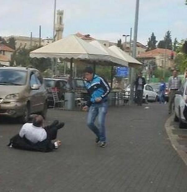 Ishaq Badran, a 16-year-old Palestinian.