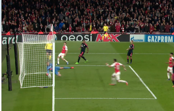 Ozil goal Bayern