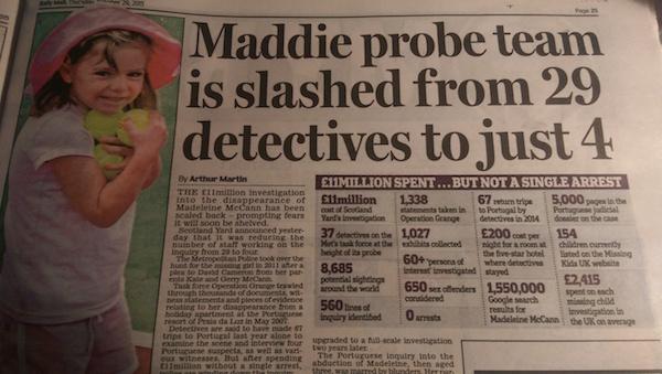 Maddie Mccann google