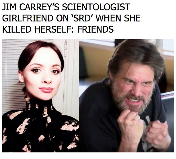 Ortgea scientology carrey