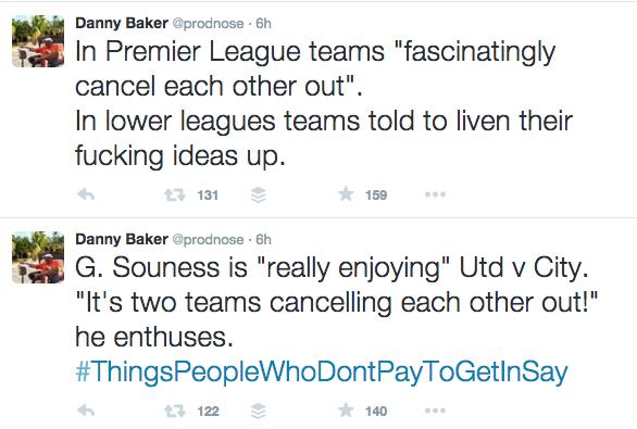 DAnny Baker tweets