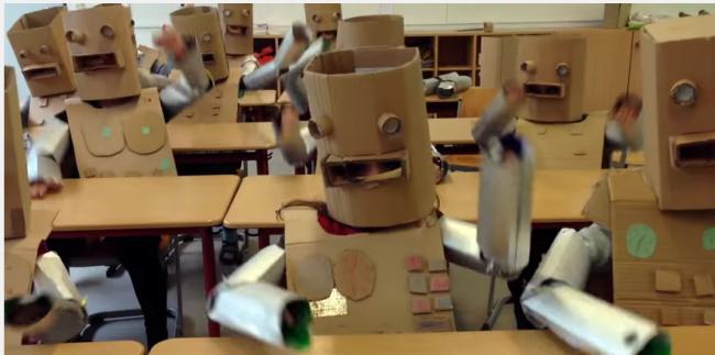 Kraftwerk - Roboter - Lemmchen primary school