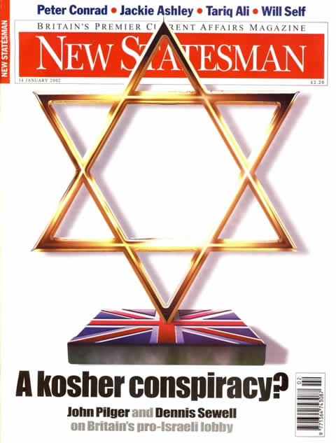 anti-Semitic new statesman