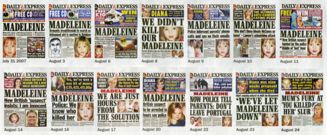 daily express mccann obsession