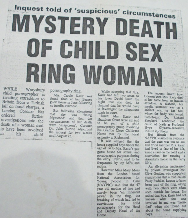 Surrey Comet, 10th August 1990: