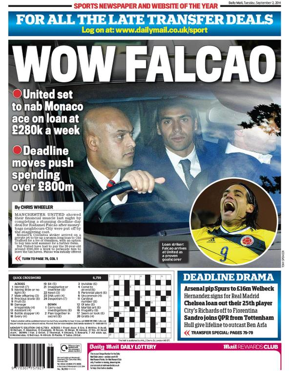 falcao united papers