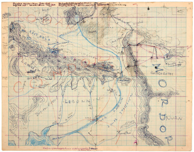 middle-earth map 1