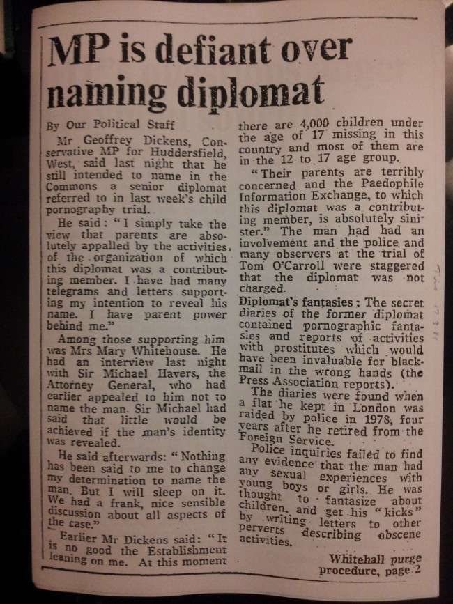 The Times (London), 17th March 1981