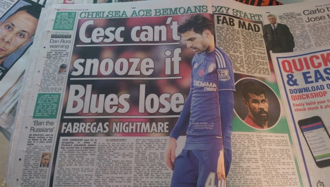 fabregas sleep