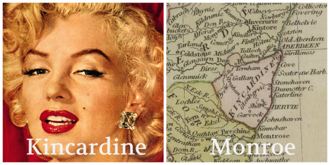 Like comparing Marilyn Monroe to Kincardineshire
