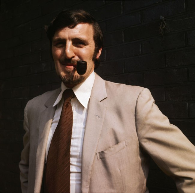 1970: Former footballer turned commentator Jimmy Hill. (Photo by Aubrey Hart/Express/Getty Images)
