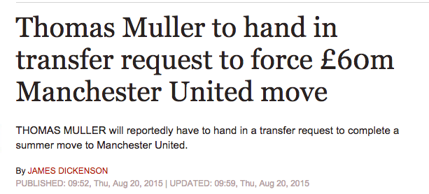 Muller signs MAnchester