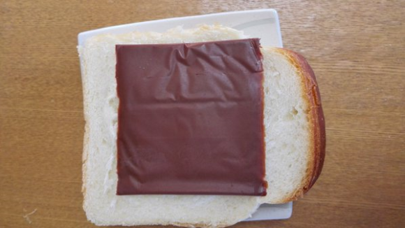 sliced chocolate sandwich
