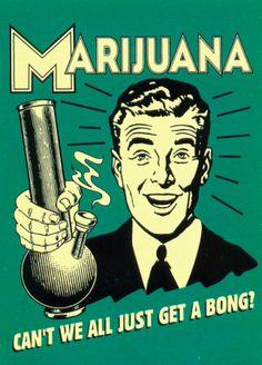 bong weed arrest