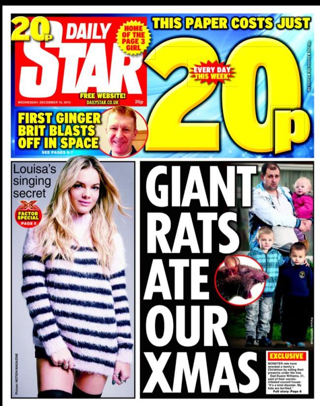 giant rats christmas