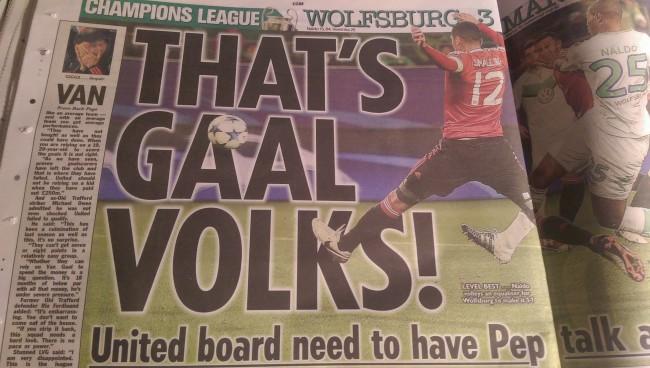 van gaal manchester united sacked