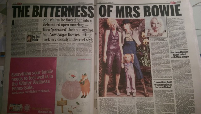bowie daily mail jan moir
