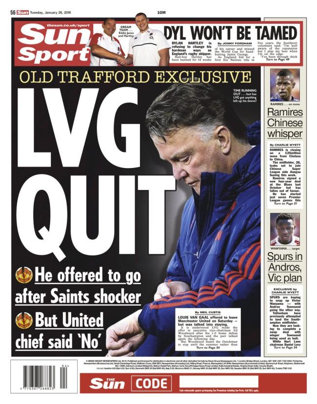 LVG quits