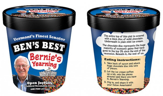 bernie's yearning ice cream