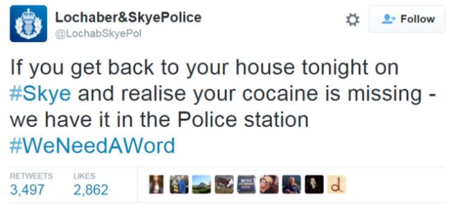 cocaine skye
