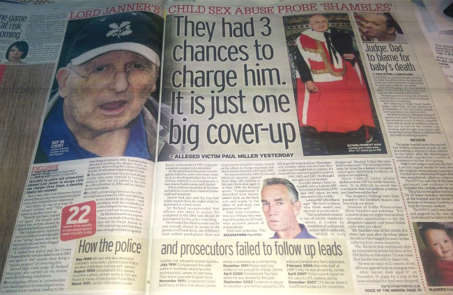 lord janner daily mirror