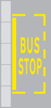 other-road-markings-bus-stop-road
