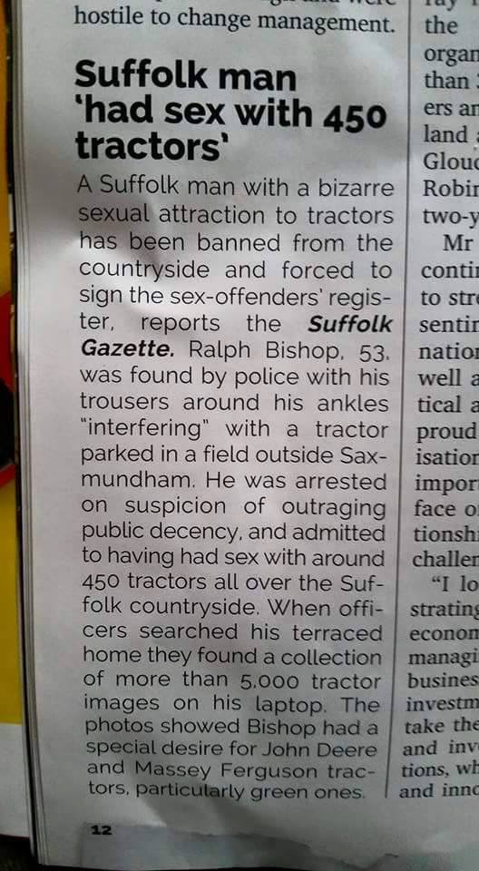 sex tractor
