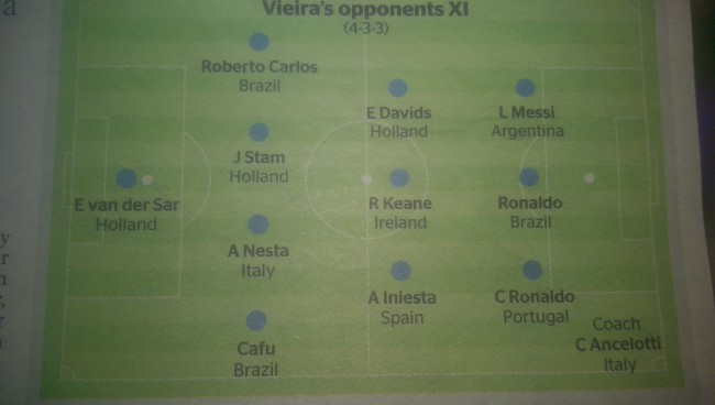vieira dream team 1