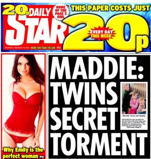 madeline mccann daily star