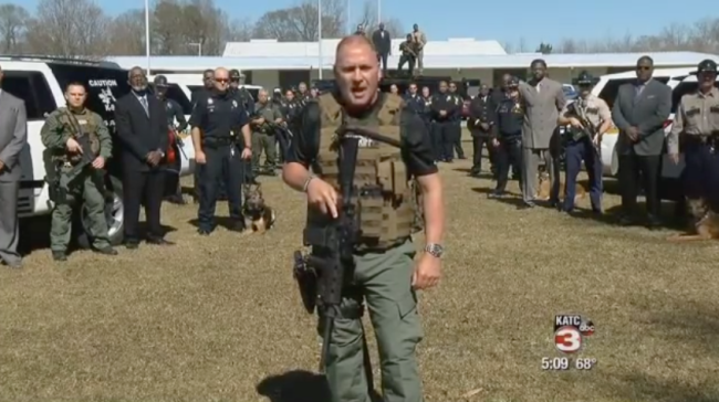 Americas Toughest Cop Captain Clay Higgins