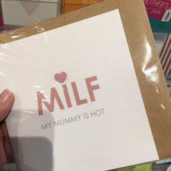 This is, without doubt, the worst Mothers Day card ever, RIGHT?